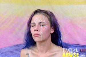 Facial Abuse Unhappy Hillbilly